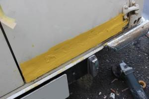 MINIVANリアゲート修理4